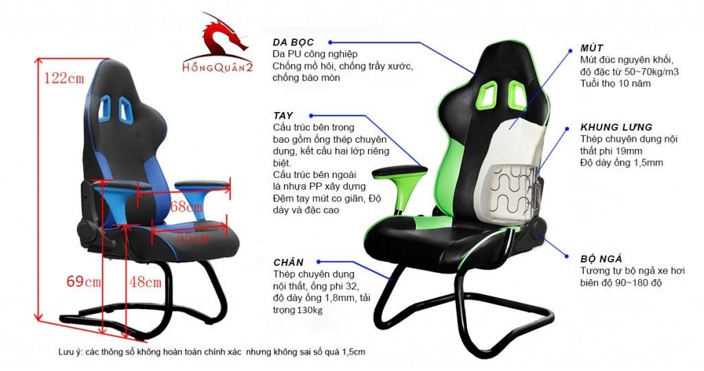 ghế choi game g81