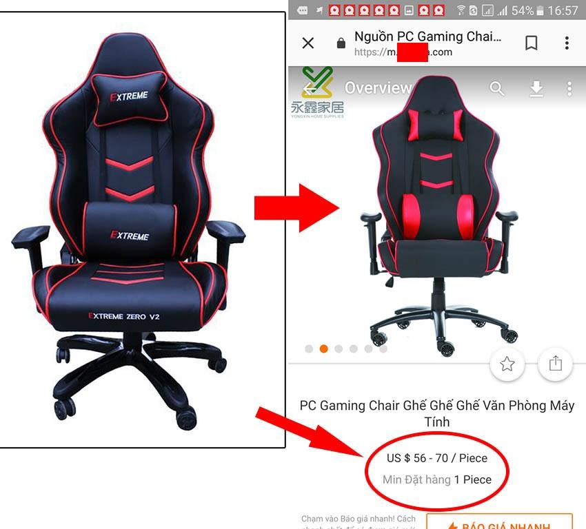 ghế zero v2